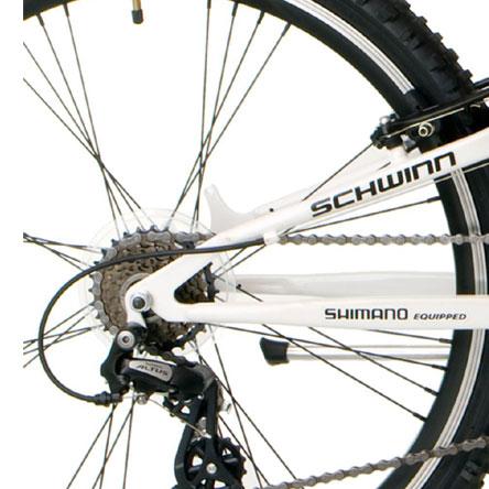 schwinn protocol 1.0 wheel and gears