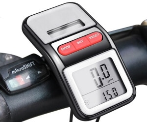 bomeon bike speedometer solar power
