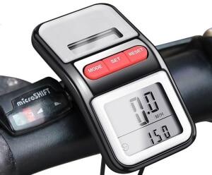 bomeon bike speedometer solar power