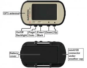 Garmin Foretrex 301 Waterproof Hiking GPS