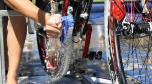 Wash the bike thoroughly