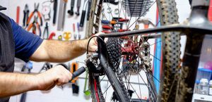 Bring your bike up for a tune up