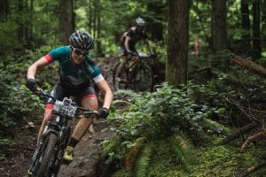 Join a mountain bike race