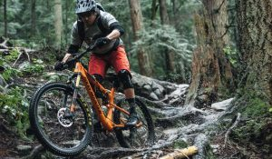Ride on different terrains to improve your mountain bike skills