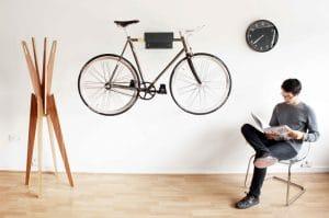 Mountain bikes storage solution
