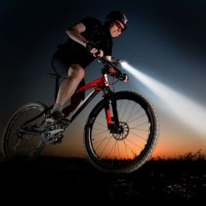 Mountain bike lights for night-time riding