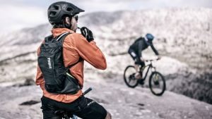 Mountain bike accessories: Hydration pack