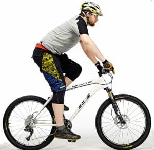Change position while riding