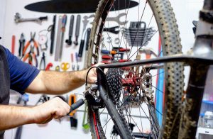 Mountain bike maintenance: Have it serviced