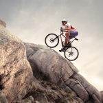 outdoor enthusiasts on one of the best beginner mountain bike models