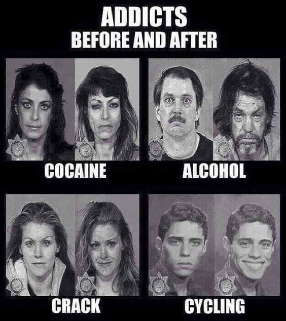 Cycling memes: It's a healthy addiction