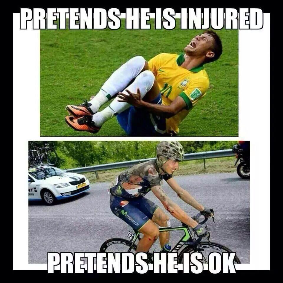 Cyclists are the toughest of athletes