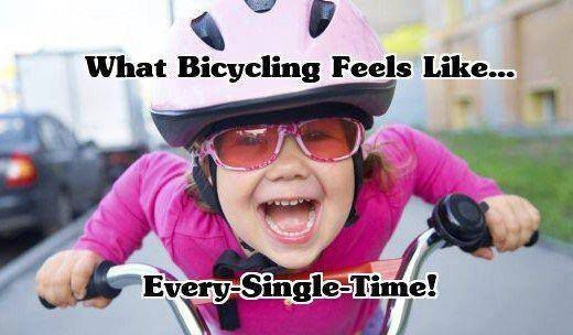 Cycling memes; What cycling feels like