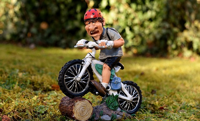 outdoor enthusiast figurine