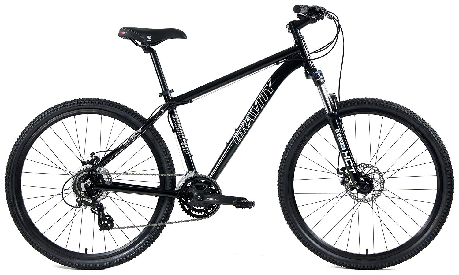 Gravity Basecamp 27.5 Disc Brake 24 Speed Front Suspension Mountain...