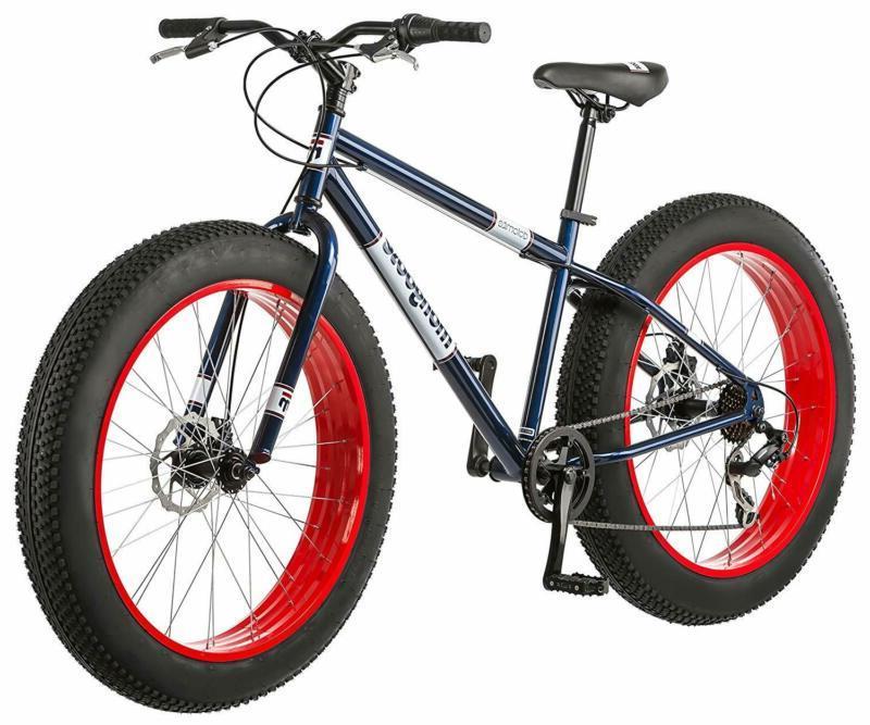 Fat Bikes: Mongoose Dolomite Fat Tire Mountain Bike