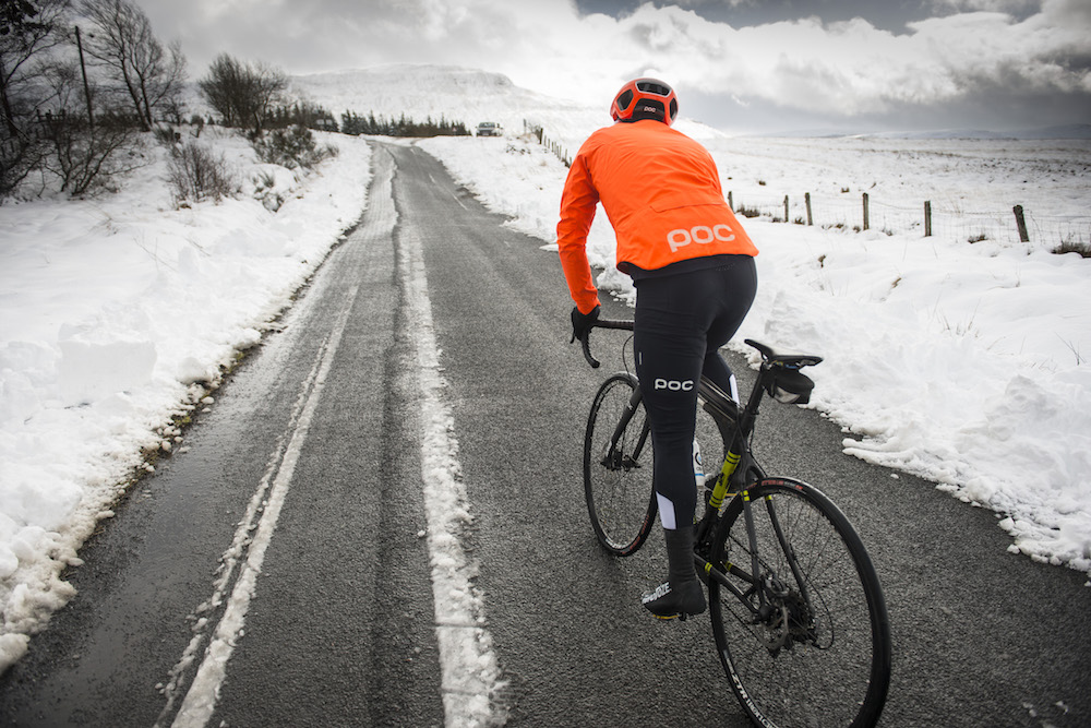 You don't mind cycling in winter
