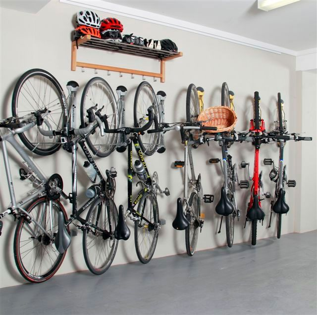 You own a few bikes