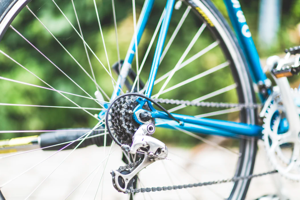 bike gears shown to illustrate common cycling mistakes